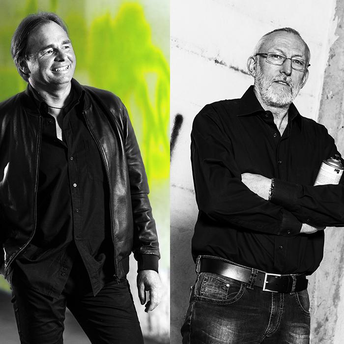 Reinhard Hoeflinger und Wolfgang Schallmoser