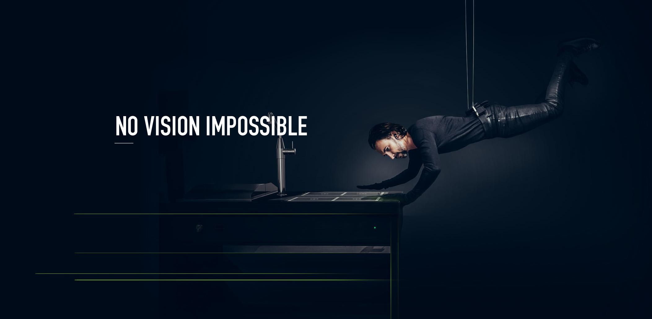 No Vision Impossible