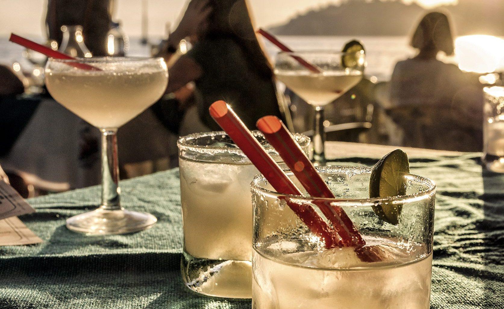 gemütliche Drinks am Abend